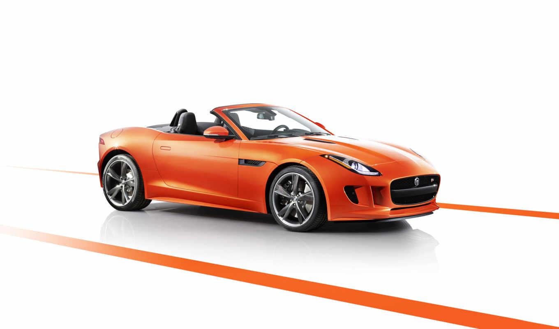 jaguar, type, black, firesand, pack, edition, автомобили, cars, orange, car,