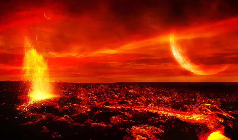 volcano, марсе, desktop, космос, космоса, земли, огненная, земля, чтобы, high, небо, картинка, download,