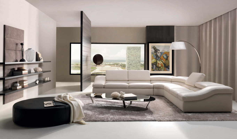 дизайн, торшер, уголок, гостиная, интерьер, столик, ковёр, интерьера, картинка, room, смартфона,