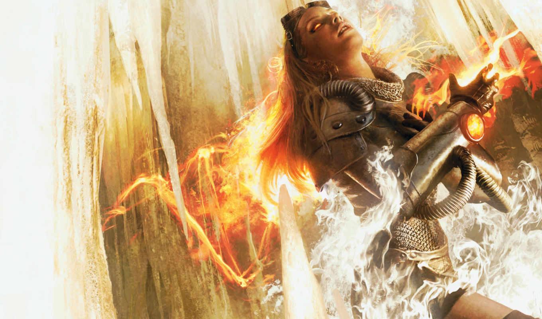purifying, огонь, resnick, laura, planeswalker, магия, novel, chandra,