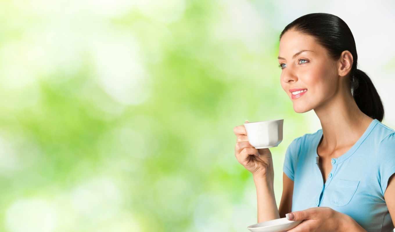 coffee, напиток, зелёный, похудения, девушка, pet,