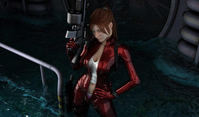 женщина, девушка, breasts, sexy, воин,