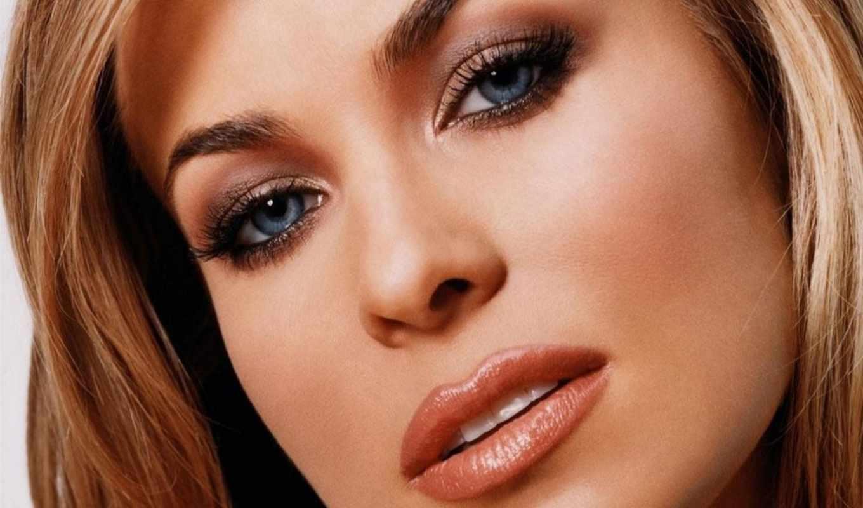 макияж, коллекции, тени, яndex, был, блеклым, используют, яркие, glaza, изображение,