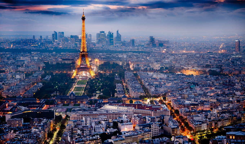 , eiffel, city, cityscape,