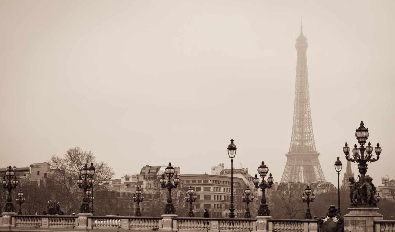 париж, франция, париж, франция, iii, pont,