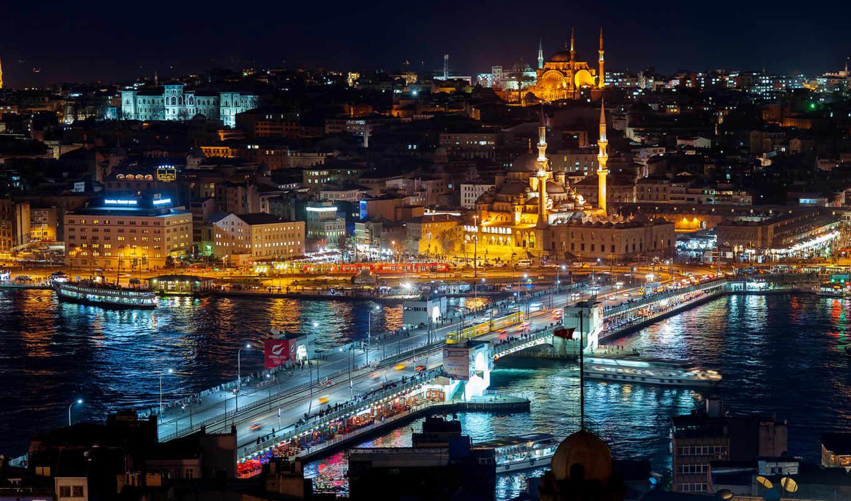turkey, cities, istanbul, изображение, ночь, turkish, недвижимость, real, free, desktop,