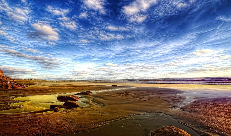 природа, resolution, пляж, landscape, hdr,