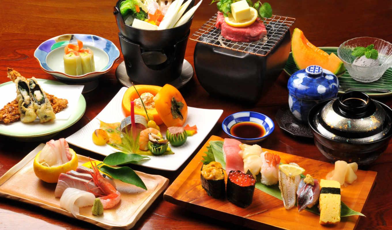 кухня, обои, hd, японская, мира, еда, japanese, фэ