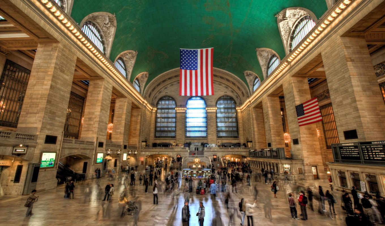 нью, станция, центральный, йорка, million, york, туристов, сша, год,