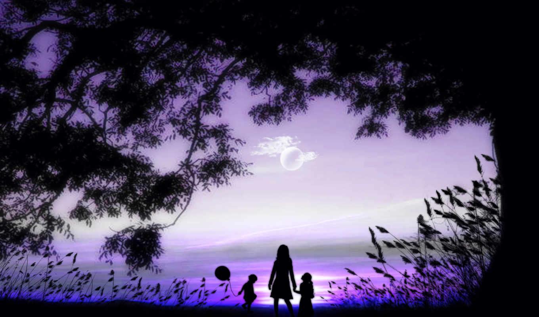 мама, дочь, son, закате, котенок, леопард, подборка, красивых, девушек,