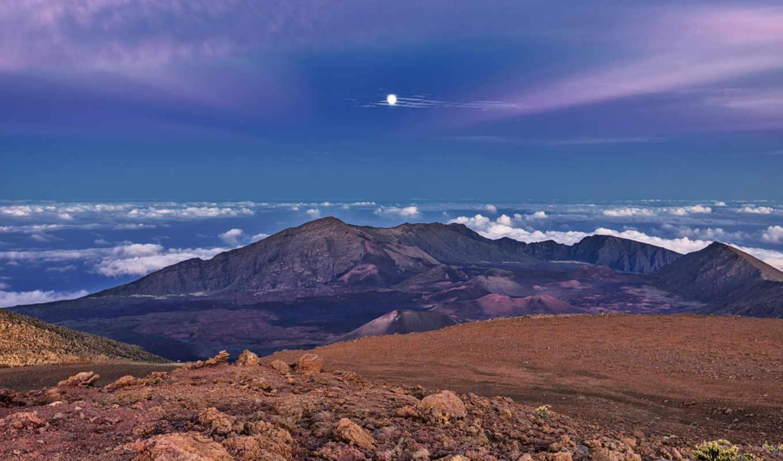 панорама, небо, luna, priroda, горы, times, янв,