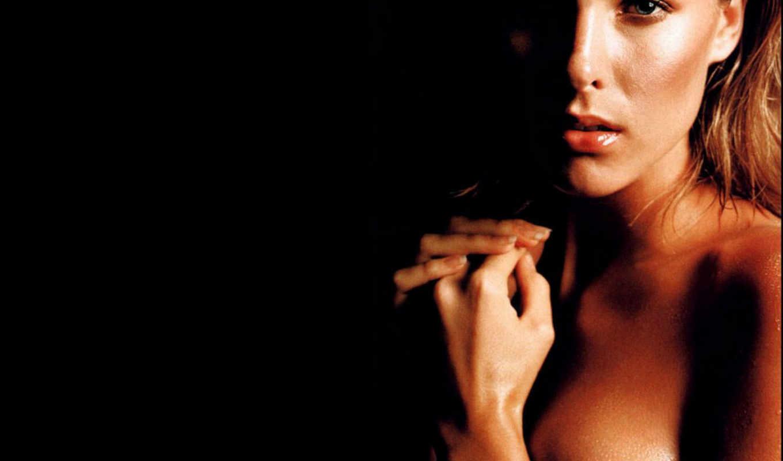 хикман, ана, hickman, взгляд, рука, волосы, грудь, девушки, знаменитости,