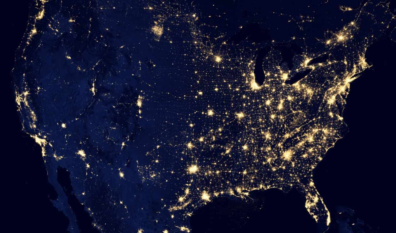 nasa, ночь, огни, сша, земля, северная, америка, планета, image, suomi, observatory, npp, states, satellite, united, смотрите, другие, красивые,