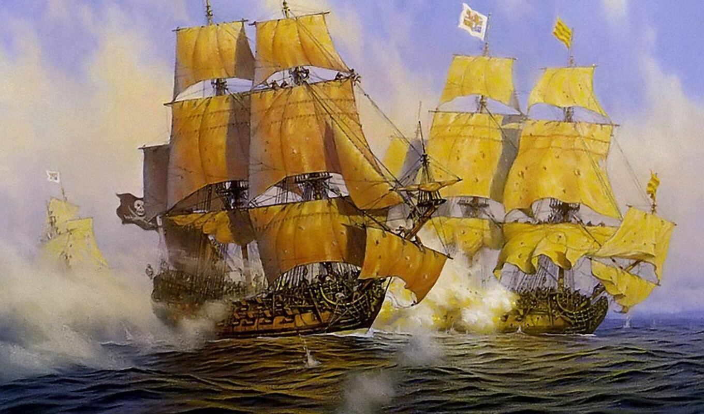 корабли, парусные, яхты,