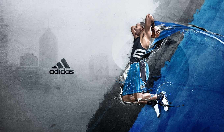 спорт, широкоформатные, баскетбол, adidas,