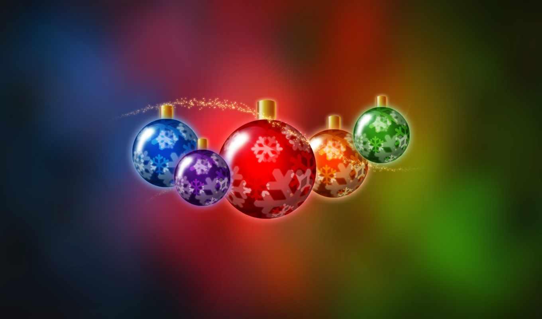новогодние, christmas, дек, страница, год, елочные,