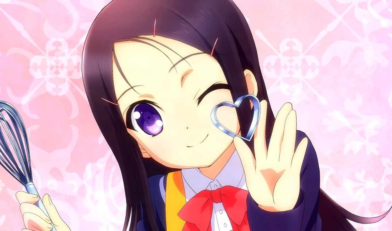 anime, charlotte, волосы, animacity, eyes, girls, pinterest, blue, long,