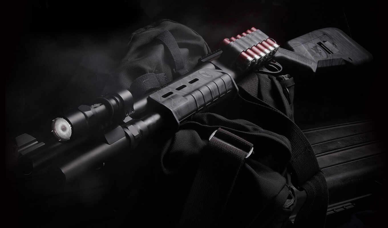 shotgun, оружие