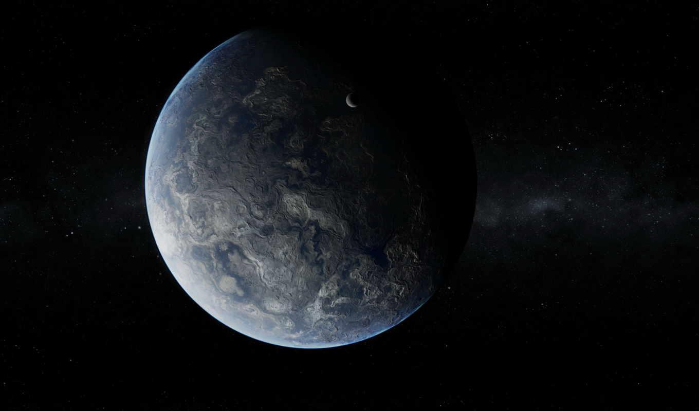 планета, спутник, рельеф, звезды, картинка, картинку, имеет, кнопкой, вертикали, горизонтали,