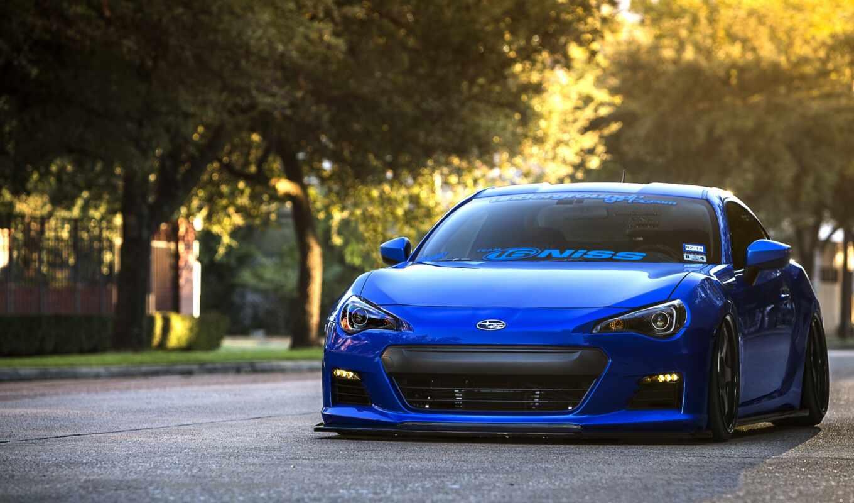 car, ava, blue, авто