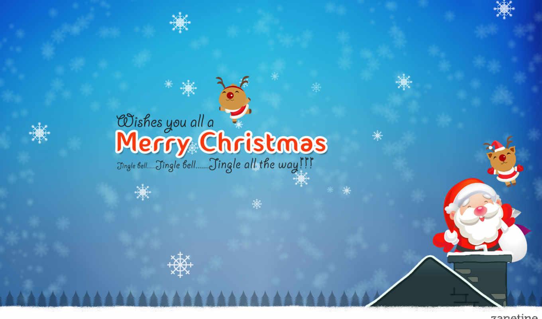 небо, christmas, санта, дерево, high, ночь, water, озеро,