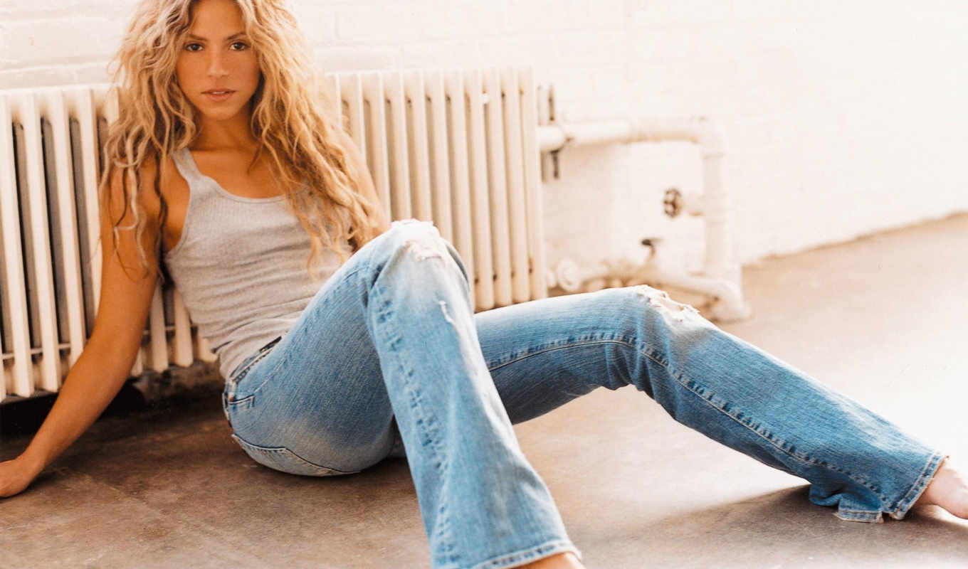 wallpaper, desktop, la, share, mi, shakira, jeans, mebarak,