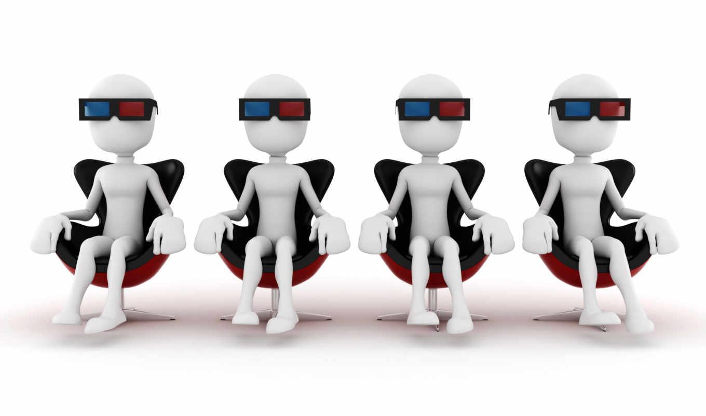 человечки, взгляд, клипарт, white, толпа, люди, презентация,