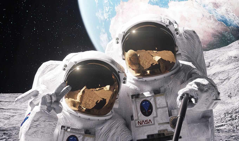 астронавт, funny, космос, selfie, скафандр, prank, космонавт, selfit