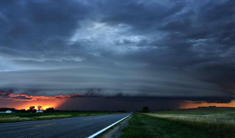 storm, گرافیکی, clouds, wallplanet, добавил, дата, облака, природа, www, небо, sunset, gazetesi, göksel, hakkında,