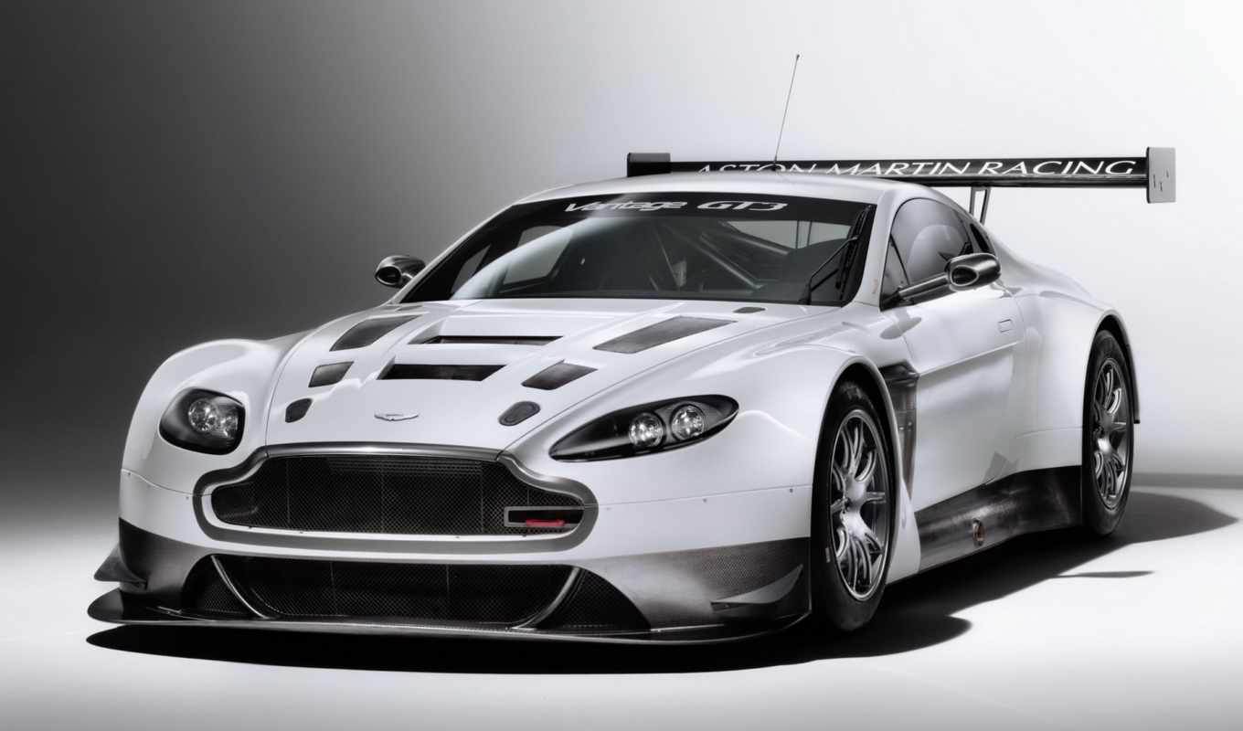 aston, martin, vantage, white, racing, проект, cars,