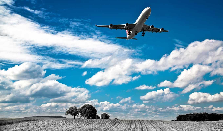 красивые, самолеты, самолёт, небе, самолетов, фотографий, неба, oblaka, небо, понравилось,