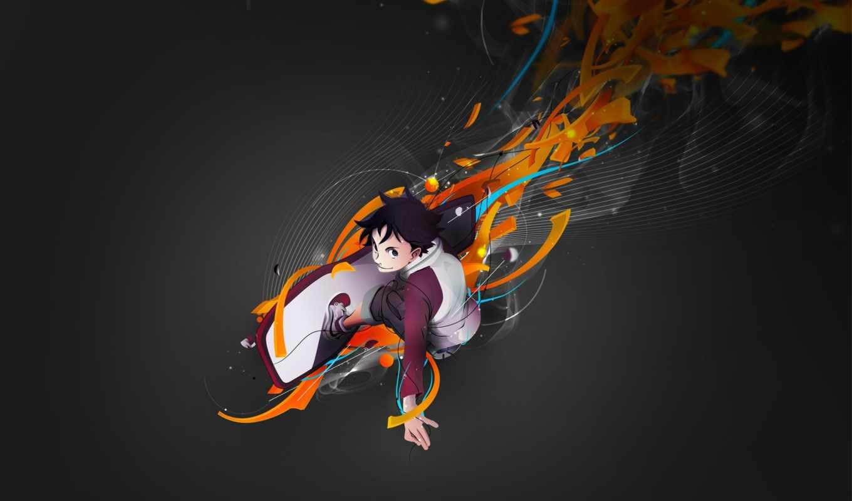 anime, skate, chico, animados, аватарки, free, eureka,