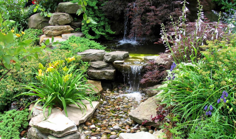 скалы, garden, gardens, ideas, paths, japanese, small, stepping, rocks, step,