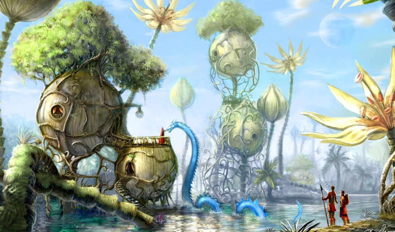 fantasy, art, creature, creatures, существ, image,