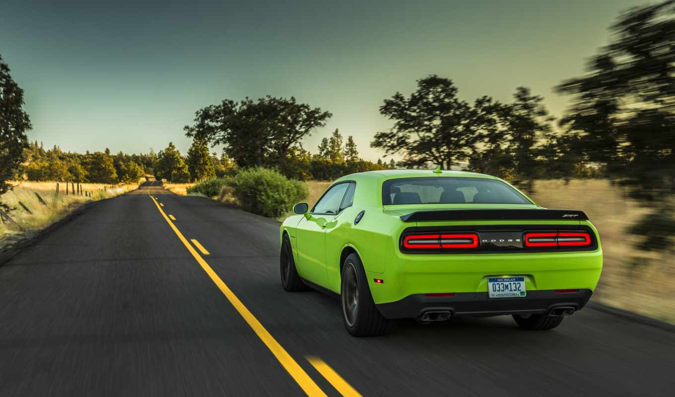 dodge, srt, challenger, hellcat, that, muscle,