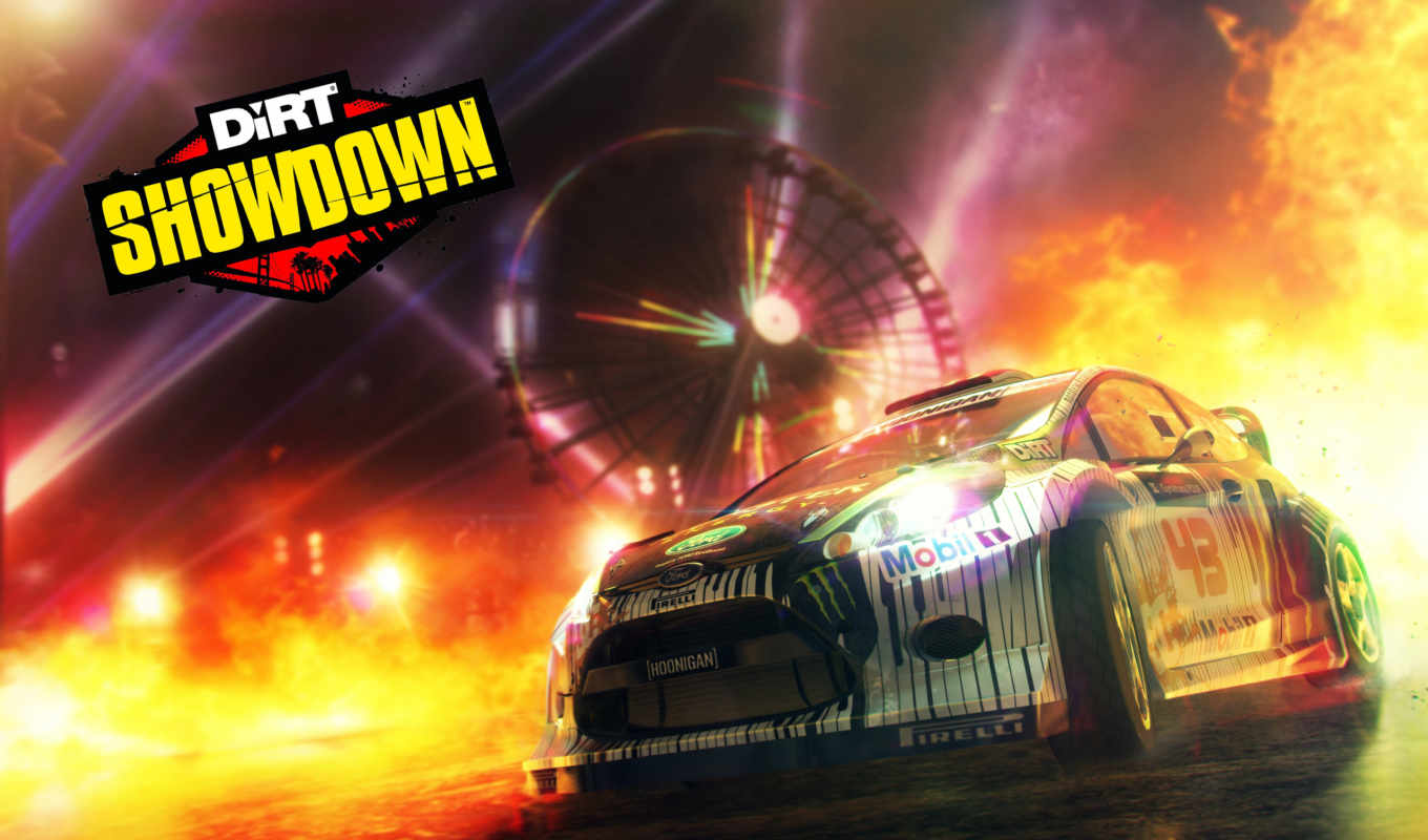 dirt, showdown, игры, codemasters,