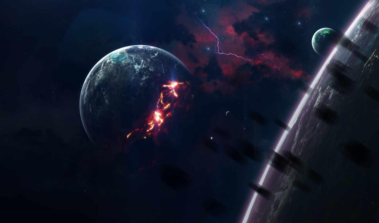 космос, star, planet, арта, event, celestial, огонь, cosmic, art