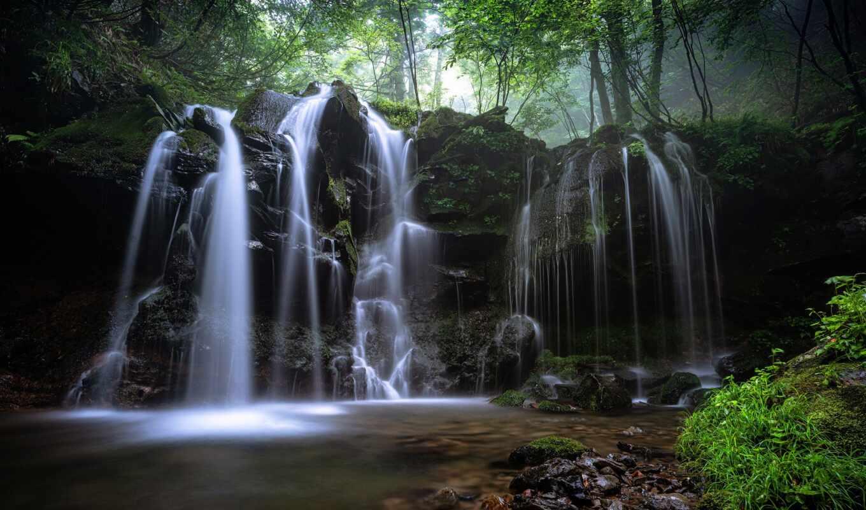 музыка, медитация, wordpress, fore, спать, водопад, тема, relax, sonnenseite