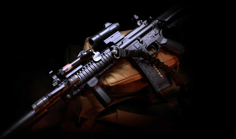 , оружие, m4, carbine, assault, rifle, gun,