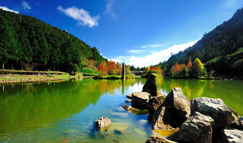paisajes, rios, лагос, montañas, кб, gallery, lagoas, есте,