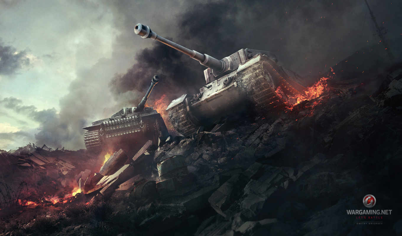 тигр, world, tanks, wot, танки, танков,