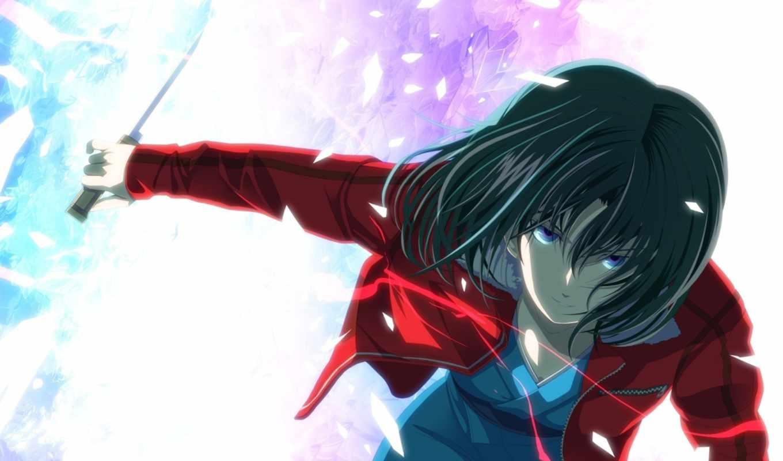 anime, вконтакте, аватары, kara, art, shiki, девушка,