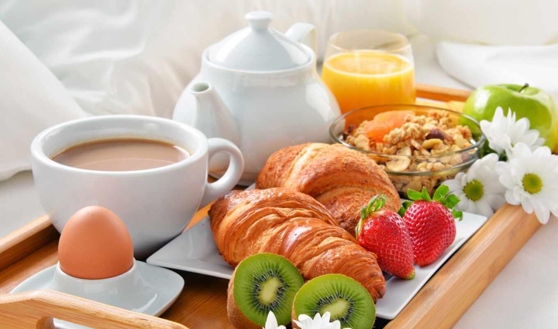 kruassana, завтрак, coffee, kivit