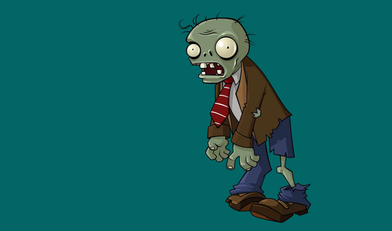 zombies, plants, plantas, зомби, они, часть,
