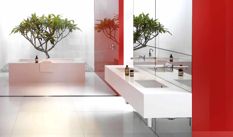 ванная, интерьер, design, red, glamorous, ideas, white,