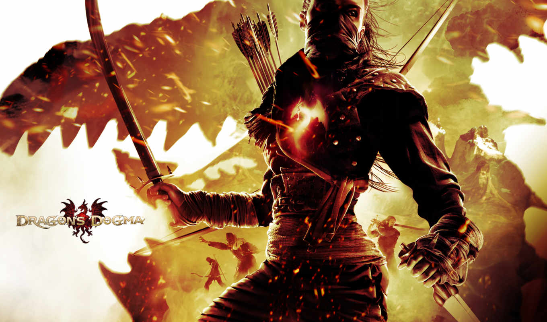 dogma, дракон, dark, arisen, игры, game, dragons,