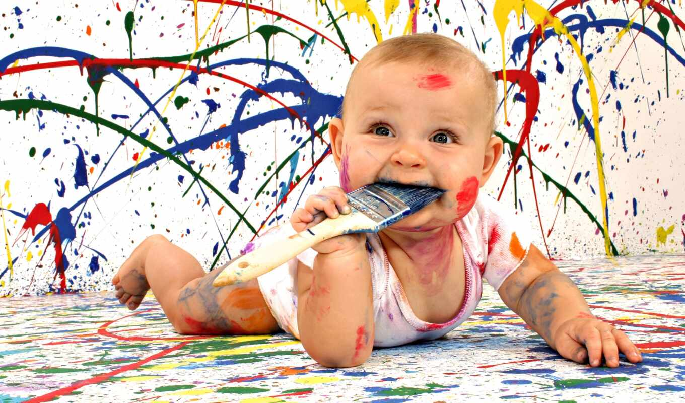 baby, color, cute, funny, pictures, images,