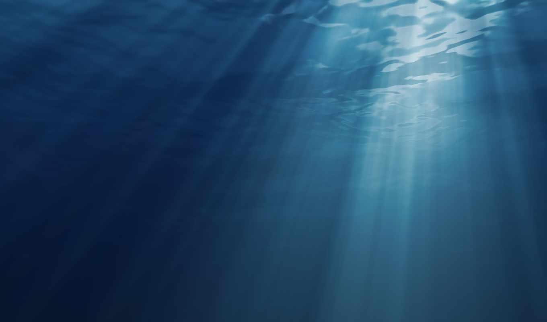 вода, природа, океан, солнца, лучи, картинка, картинку,