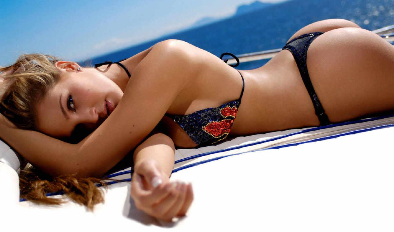 devushki, море, девушка, взгляд, яхта, таиланд, brunette, красивые,