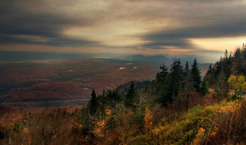 грусть, осень, landscape, desktop, landscapes, most, click, пейзажи, небо, world, widescreen, картинка, background,